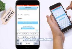 Cách đăng ký tạo tài khoản nick Zalo trên iPhone chạy iOS 1