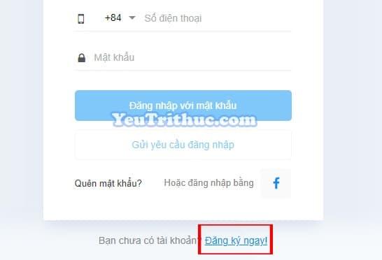 Cách đăng ký tạo tài khoản nick Zalo trên nền web bằng trình duyệt 4