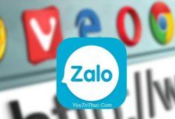 Cách đăng ký tạo tài khoản nick Zalo trên nền web bằng trình duyệt 1