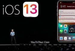 iOS 13 hỗ trợ iPhone nào, danh sách iPhone được lên đời iOS 13