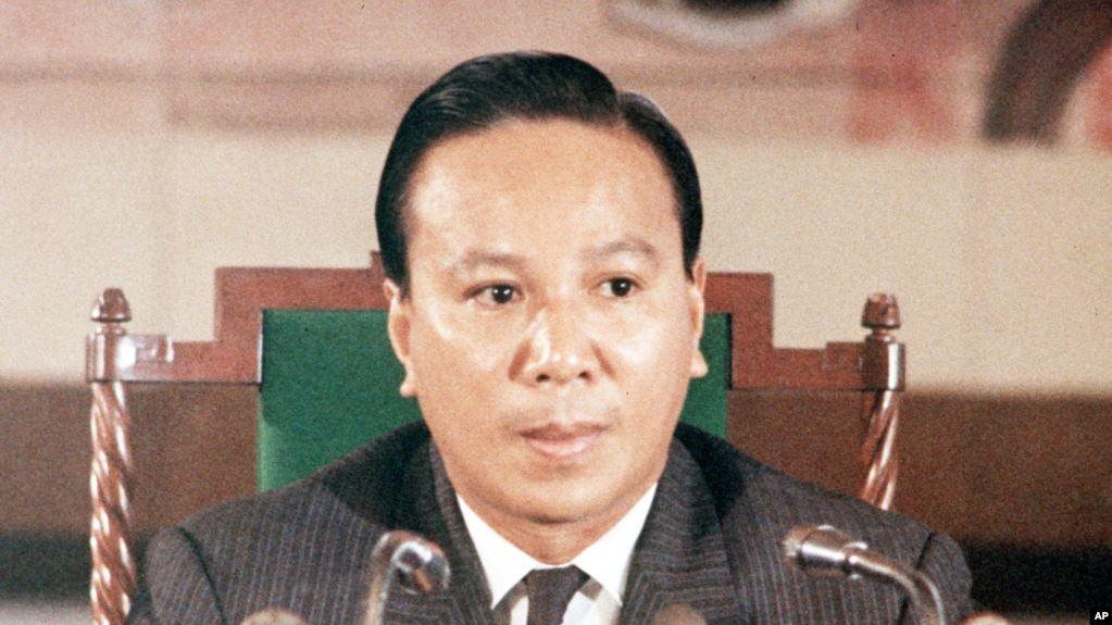 Ông Nguyễn Văn Thiệu