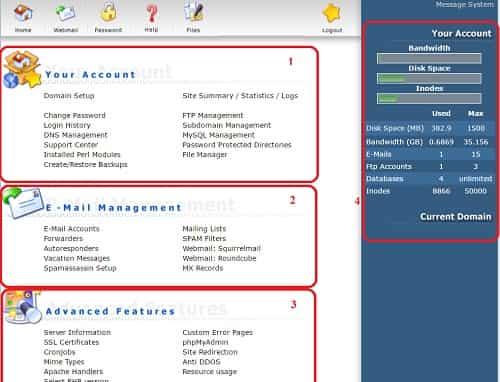 DirectAdmin là gì, phần mềm quản lý Hosting Linux DirectAdmin 1