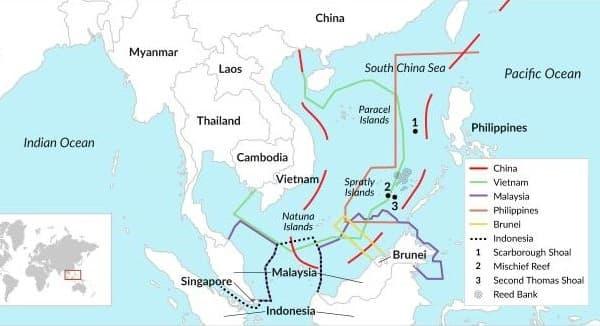 Đường Lưỡi Bò là gì, tuyên bố phi lý của Trung Quốc tại Biển Đông 2