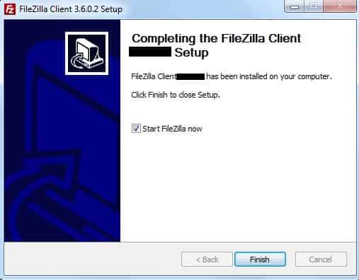 FileZilla là gì, cài đặt và cách sử dụng phần mềm FTP FileZilla Client 2