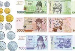 Tỷ giá Won Hàn Quốc KRW, 1 won bằng bao nhiêu tiền Việt Nam đồng VND