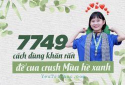 7749 có nghĩa là gì