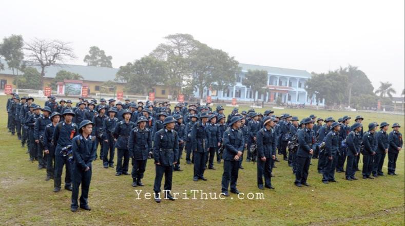 Đại đội thường có 100 người, tương đương 3 Trung đội