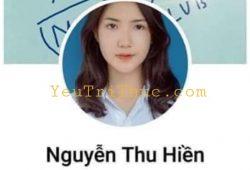 Hình ảnh nữ sinh Nguyễn Thu Hiền E414 Yên Thế Bắc Giang, Đại học Y dược cổ truyền