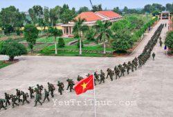 Tiểu đoàn tương đương khoảng 3 Đại đội, khoảng 300 đến 500 quân