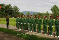 Tiểu đội ở Việt Nam thường có biên chế 9 lính