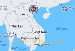 Việt Nam nằm ở phía Đông nước Lào