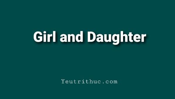 Con gái dịch sang tiếng Anh
